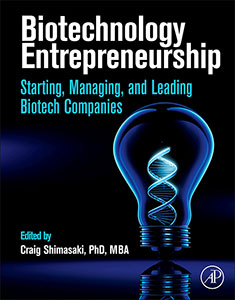 Biotechnology Entrepreneurship Book